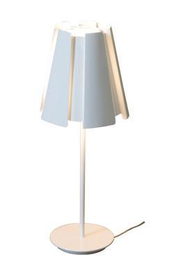LITTLE TWIST - stolní lampa, lesklá bílá
