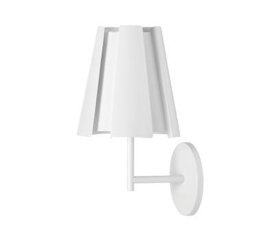 LITTLE TWIST - nástěnná lampa, bílá