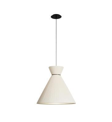 MANDARINA - závěsná lampa, průměr 43 cm  perlová - 1