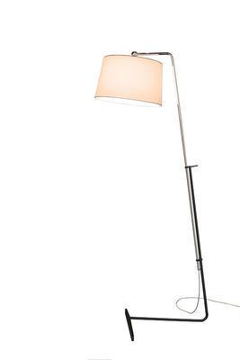 MIA - stojací lampa, béžové stínidlo