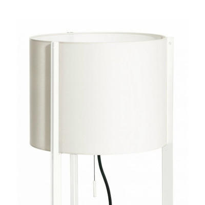 NIRVANA - stojací lampa, konstrukce bílá, stínidlo bílé