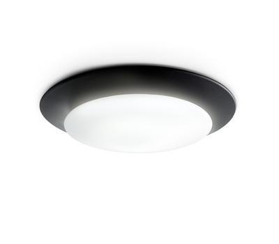 OSLO - stropní nebo nástěnné světlo, černá