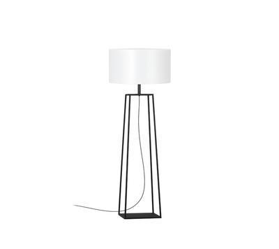 TIFFANY 2 - stojací venkovní lampa, černá