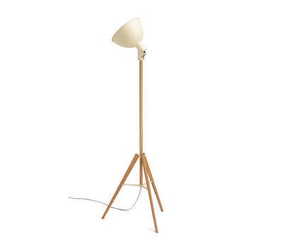 TRIPOD F - stojací lampa, béžová