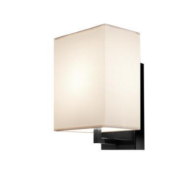 TURÍN - nástěnná lampa, konstrukce černá / stínidlo béžové