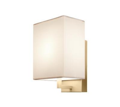 TURÍN - nástěnná lampa, konstrukce zlatá / stínidlo béžové