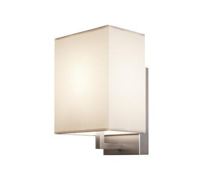 TURÍN - nástěnná lampa, konstrukce matnýnikl / stínidlo béžové