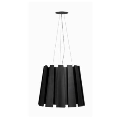 TWIST - závěsná lampa, průměr 75 cm černá - 1