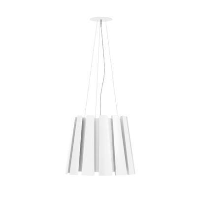 TWIST - závěsná lampa, průměr 60 cm bílá - 1