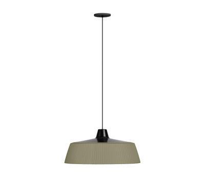 Woody - závěsná lampa, olivově zelená