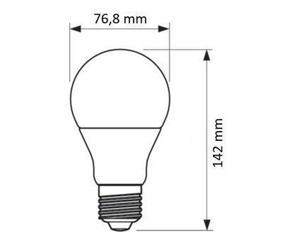 CorePro LEDbulb ND 19-150W A67 E27 827 FR - 2