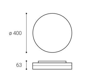LED2 ROUND II 40 30W 3CCT - 2