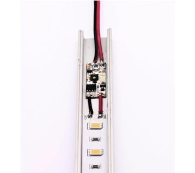 Dotykový mikro stmívač 7,5A  do ALU profilu - 2