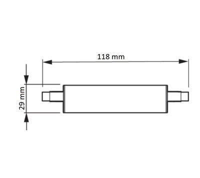 CorePro R7S 118mm 14-100W 830 D - 2