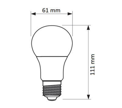LED SceneSwitch E27 60W 827/840 FR - 2