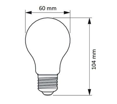 FILAMENT LED SceneSwitch E27 60/30/15W 827 CL - 2