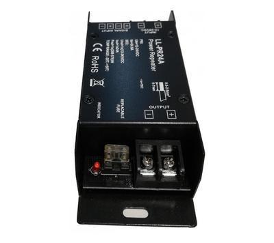 LL - PR24A jednokanálový zesilovač signálu 1x24A  - 2