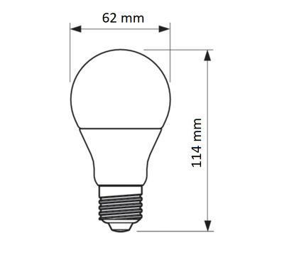 LED ND D2D 60W A60 E27 827 FR - 2