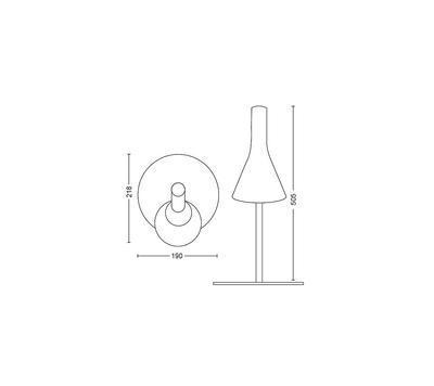 Explore Hue table lamp white 1x6W 230V - 2