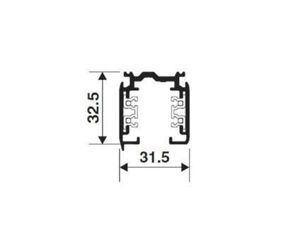 GLOBAL Trac N/A  XTS4200-2 Černá 200cm - 2