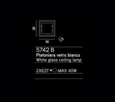 PERENZ - Stropní nebo nástěnné světlo, 5742 B - 2