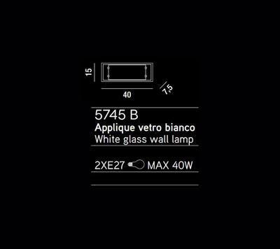 PERENZ - Stropní nebo nástěnné světlo, 5745 B - 2