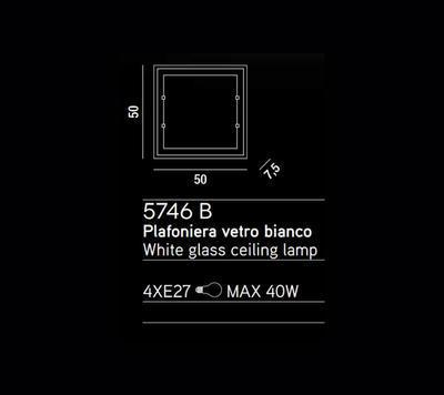 PERENZ - Stropní nebo nástěnné světlo, 5746 B - 2