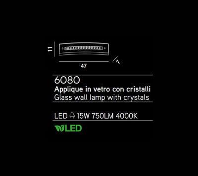 PERENZ - Nástěnné světlo, 6080 - 2