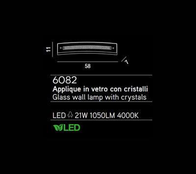 PERENZ - Nástěnné světlo, 6082 - 2