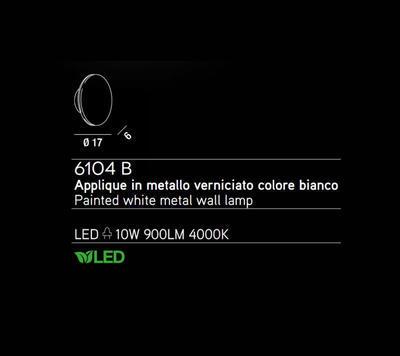 PERENZ - Nástěnné světlo, 6104 - 2