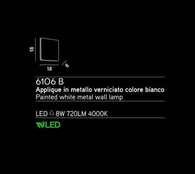 PERENZ - Nástěnné světlo 6106 - 2