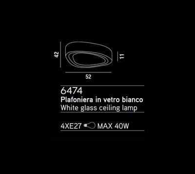 PERENZ - Stropní nebo nástěnné světlo, 6474 - 2