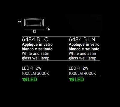 PERENZ - Nástěnné světlo, 6486 - 4000 K - 2