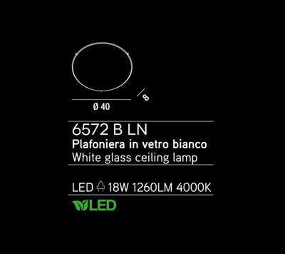 PERENZ - Stropní světlo, 6572 - 2