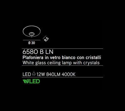PERENZ - Stropní světlo, 6580 - 2