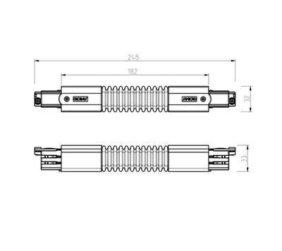 Flexi roh GLOBAL Trac N/A  XTS23-2 Černá - 2