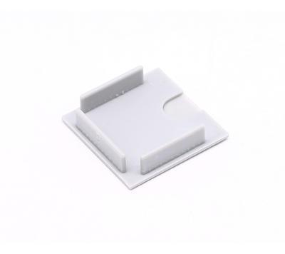 Koncovka ALU profil 36x36mm plast šedivá barva - 2