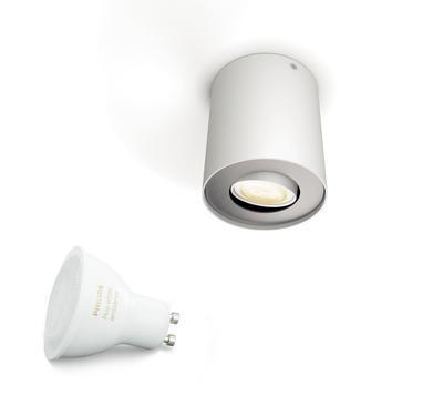 Pillar Hue ext.single spot white 1x5.5W 5633031P8 - 2