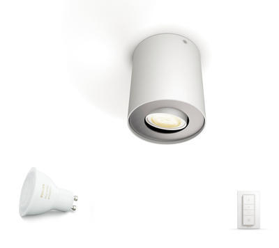 Pillar Hue single spot white 1x5.5W 5633031P7 - 2