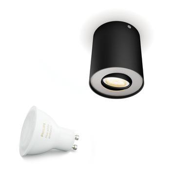 Pillar Hue single spot black 1x5.5W 5633030P8 - 2