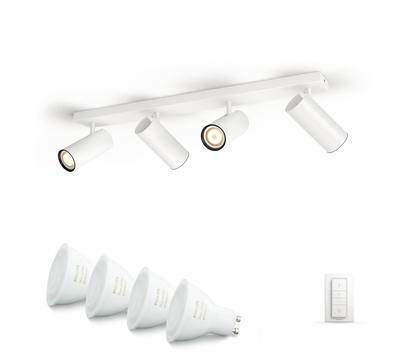 BURATTO bar/tube white 4x5.5W 240V - 2