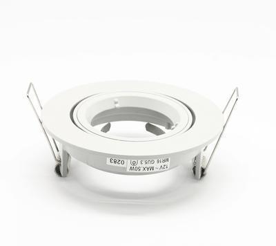 Rámeček MR16 kulatý šedobílý - 2