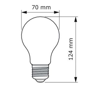 Filament Calssic LEDBulb ND 11-100W E27 827 A67 CL - 2