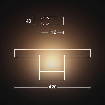 Adore Hue wall lamp white 1x13W 24V - 2