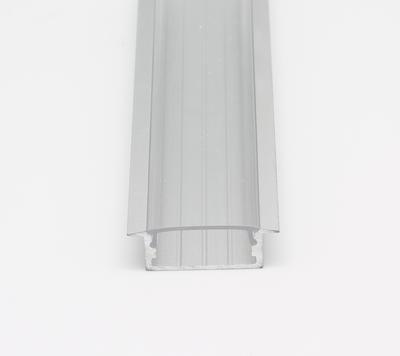 ALU profil zápustný 23x10 délka 2m krytka čirá - 2
