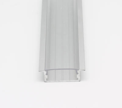 ALU profil zápustný 23x10 délka 1m krytka čirá - 2