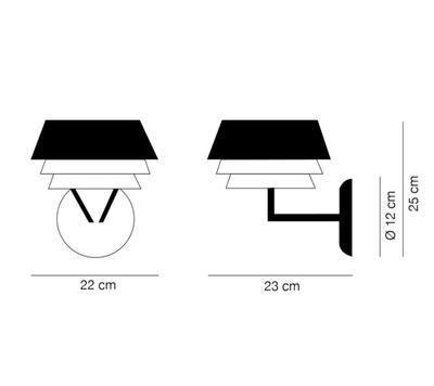 GALA - nástěnná lampa - 2