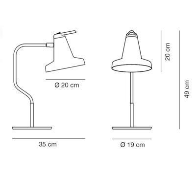 GARÇON - stolní lampa - 2