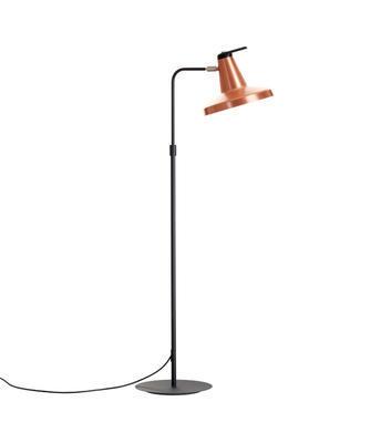 GARÇON - stojací lampa, měděná - 2
