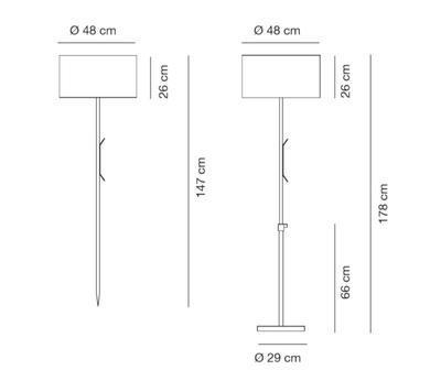 HARRY - Venkovní stojací lampa - 2